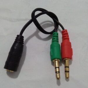Cavo Audio Jack Sdoppiatore
