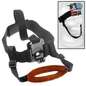 fascia da testa con supporto mento compatibile gopro