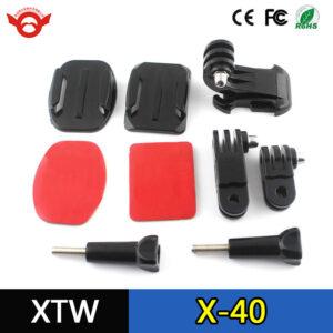 kit supporto casco frontale con braccio snodabile